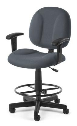 OFM 105-AA-DK-801 Comfort Series Superchair with Arms and Dr