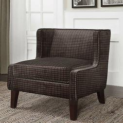 """30"""" w Hunter Armless Chair low profile accent wingback desig"""