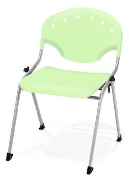 """OFM 305-P52 Rico Stack Chair, 18"""" Height, Lime Green"""