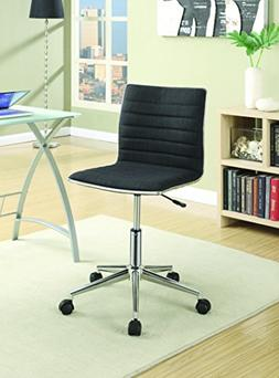 Coaster Home Furnishings 800725 Office Chair, NULL, Black/Ch