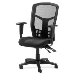 Lorell 86200 Executive High-Back Chair, Mesh Fabric, 28-1/2""