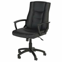 Bush Business Furniture Accord Executive Office Chair in Bla