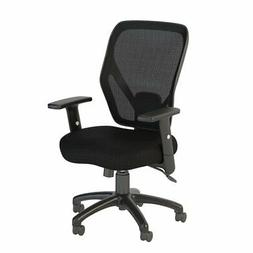 Bush Business Furniture Accord Mesh Back Office Chair in Bla