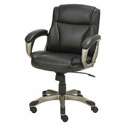 Alera ALEVN6119 Veon Series Low-Back Leather Task Chair w/Co