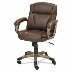 Alera ALEVN6159 Veon Series Low-Back Leather Task Chair w/Co
