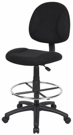 Boss Office Products B1615BK Ergonomic Works Drafting Chair