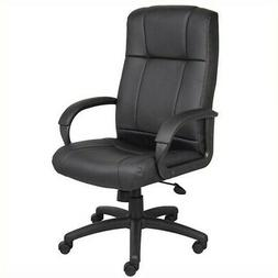 Boss Office Products B7901 Caressoft Executive High Back Cha