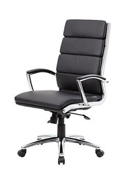 Boss Office Products High Back Executive Chair with Arms