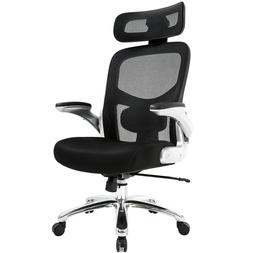 Big and Tall Office Chair 500lbs Wide Seat Executive Desk Ch