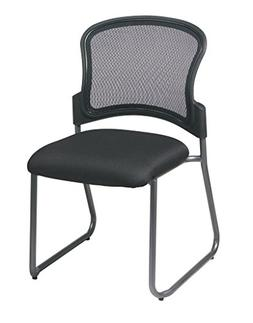 Office Star Breathable ProGrid Back and FreeFlex Coal Seat A