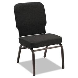 Alera BT6610 Oversize Stack Chair Fabric Upholstery Chair, B