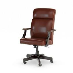 Bush Business Furniture State High Back Leather Executive Of