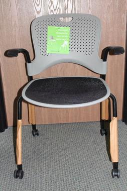 Herman Miller Caper Stacking Office Desk Chair in Cappuccino