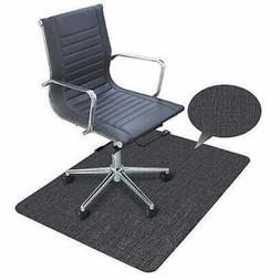 """ES Robbins Designer Chair Mat 35"""" x 47"""" with Charcoal Patter"""