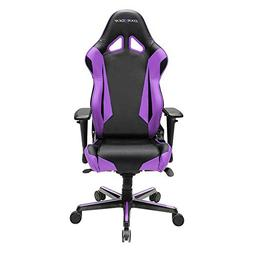 DXRacer OH/RV001/NV Black & Violet Racing Series Gaming Chai