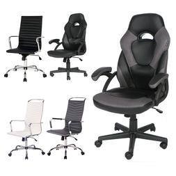Ergonomic Gaming Chair Racing Style High Back Recliner Offic