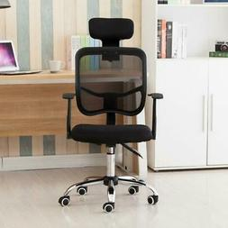 Ergonomic Mesh Task Drafting Chair with Lumbar Support Offic