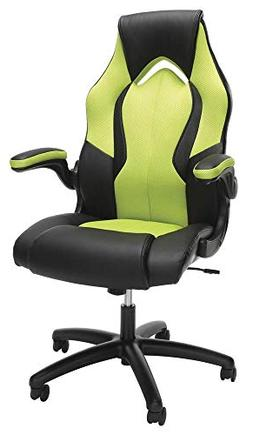 OFM Ess-3086 High-Back Racing Style Bonded Leather Gaming Ch