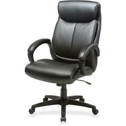 "Lorell Executive Chair - Black Seat - Black Back - 28"" Width"