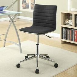 Coaster Furniture Fabric Office Chair With Chrome Base