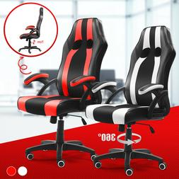 Gaming Chair Racing Computer Office Chairs High Back Footres