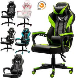 Gaming Racing Swivel Chair Computer Leather High Back Execut