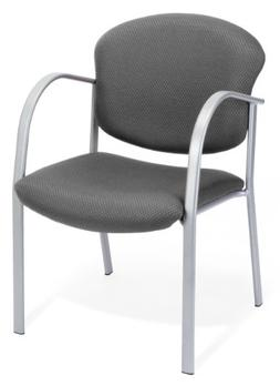 OFM 414-13 Reception Chair with Arms - Fabric Guest Chair, G