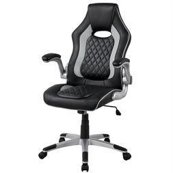 gray executive office chair gaming chair office
