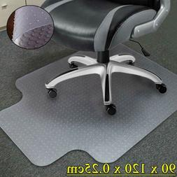 HEAVY DUTY Home Office Chair Mat For Carpet Floor Protection