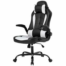 High back video Gaming Chair Ergonomic Office Desk leather r