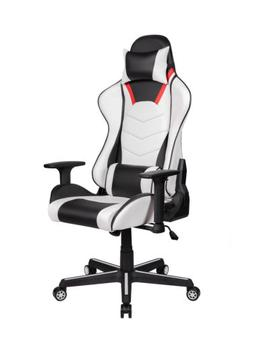 HighBack Office Gaming Chair Ergonomic Recliner Leather Comp