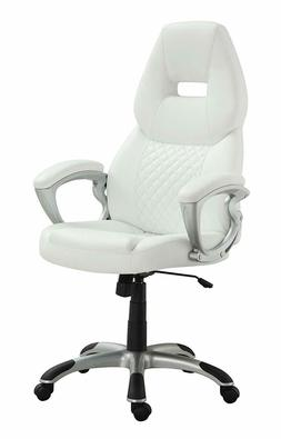 Coaster Home Furnishings Adjustable Height Office Chair Whit