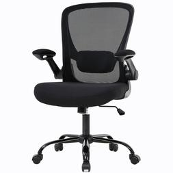 Home Office Chair Mid backAdjustable with Lumbar Support A