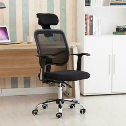 Home Office Ergonomic High Back Mesh Chair Reclining Swivel