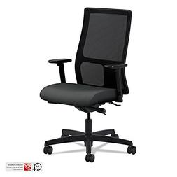 Ignition Series Mesh Mid-Back Work Chair, Iron Ore Fabric Up
