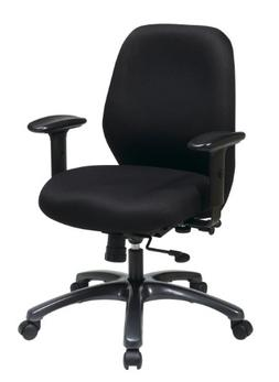Office Star High Intensity Use Ergonomic Chair with 2-To-1 S