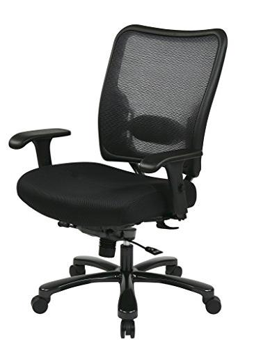 75-37A773Double Air Grid® Back & Mesh Seat Ergonomic Chair