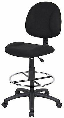 Boss Office Products B1615-BK Ergonomic Works Drafting Chair