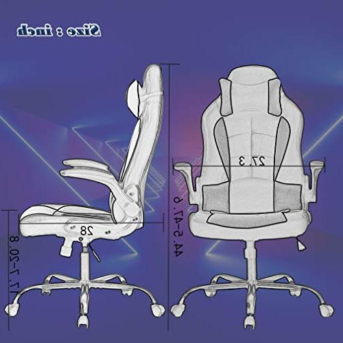 BestMassage Chair Back Task Swivel Executive for with Lumbar Support Adjust