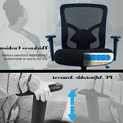 Big Chair Desk Chair Mesh Computer with