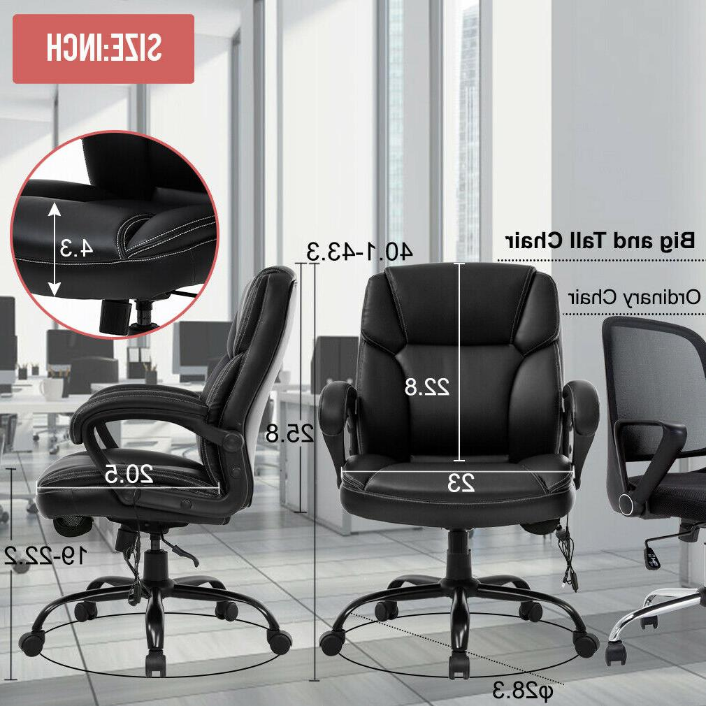 Big and Tall Office Ergonomic Desk Chair Computer