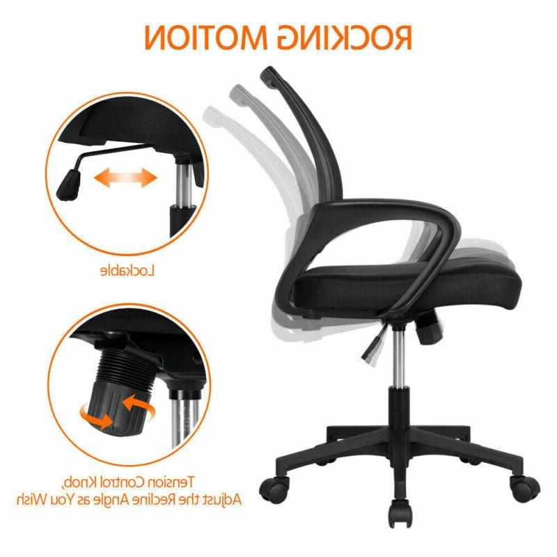 Office Chair Chair Adjustable Rolling Swivel