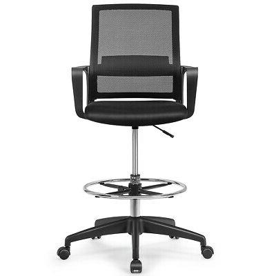 Drafting Tall Office Chair for Adjustable Height