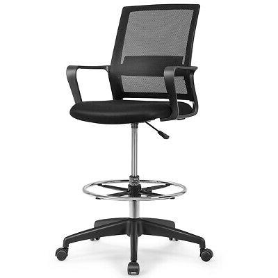 drafting chair tall office chair for standing