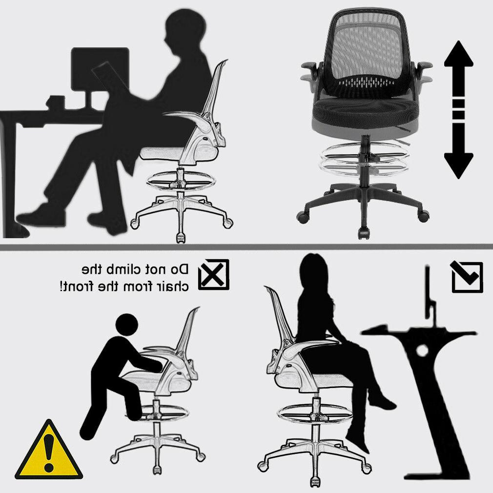 Ergonomic with Arms Tall