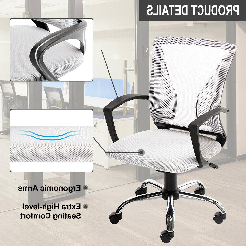 Executive Gaming Chair Computer Desk Swivel Mesh Chair