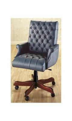 Executive Swivel Chair w Fully Upholstered Arms