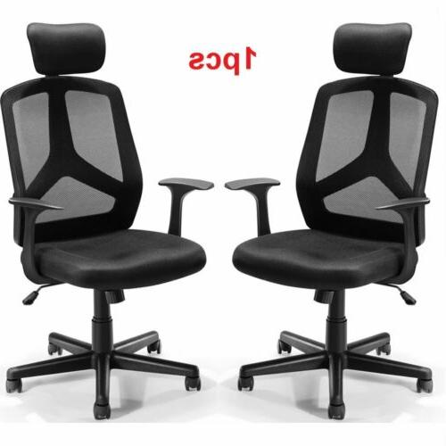 Office Chair Executive Home Computer Desk Seat Adjustable Sw