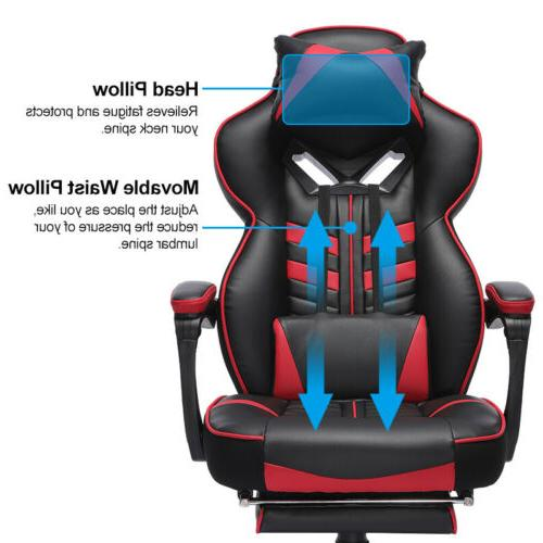 GAMING CHAIR RACING LEATHER HIGH