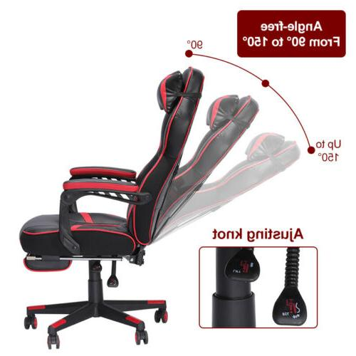 GAMING LEATHER HIGH BACK OFFICE